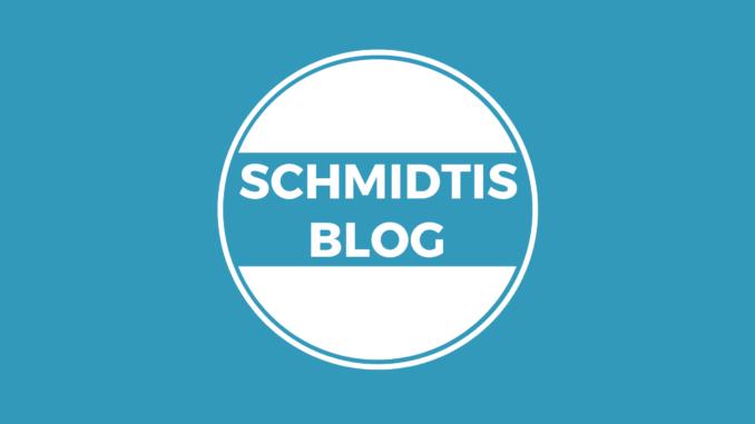 Schmidtis Blog